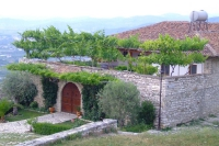 Living house in the castle of Berat