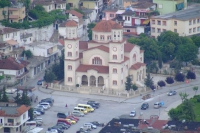 Church in Berat city, Albania