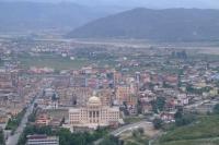 View of Berat city from Berat Castle