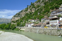 The river Osum in Berat
