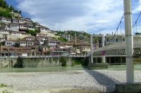 Bridge over Osum river in Berat city