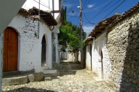 Street in Berat city