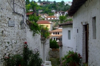 Street of Berat city