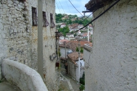 Narrow street in Berat city