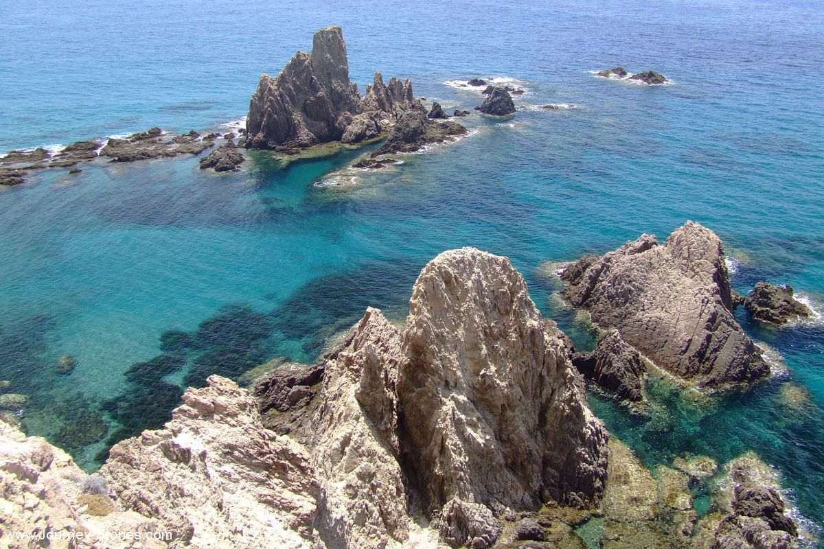 Travel blog journey stories tourist places and tips for Cabo de gata spain