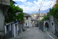 Street of Gjirokaster, Albania