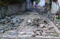Repair of roads in Gjirokaster