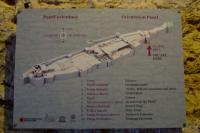Orientation panel of Gjirokaster castle
