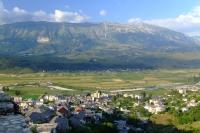 Valley near Gjirokastër, Albania