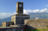 Clock Tower in Gjirokastër Castle