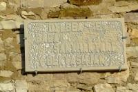 Plate in Gjirokastër Castle