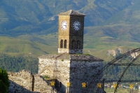 Clock Tower in Gjirokastër Castle, Albania