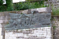 Low relief in Gjirokastër city