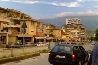 Street of Gjirokastër city