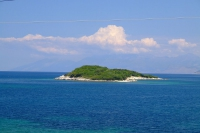 Ksamil islands in Ionian Sea, Albania