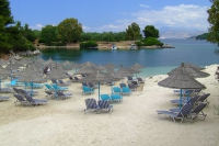 Beach in Ksamil village, Albania