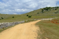 Road near Ksamil