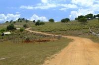 Road near Ksamil village