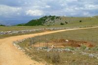 Road near Ksamil village, Albania