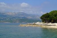 Ksamil Islands in Ionian Sea