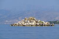 Small island near Ksamil Islands