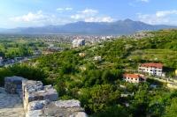 Shkodër city from Rozafa castle