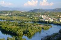 Drin river near Shkodër