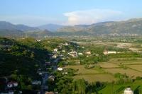 Valley near Shkodër city